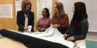 Proper-fitting fire-retardant workwear for women being developed at U of A